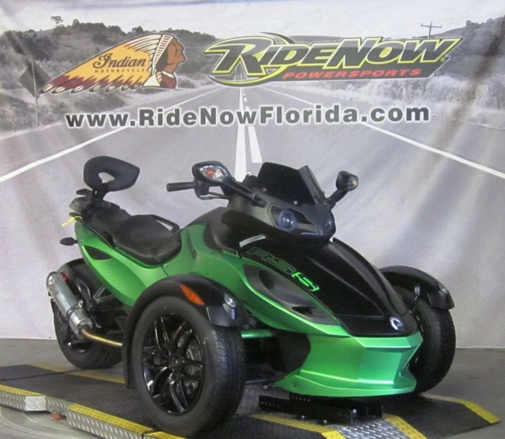 Pre-Owned 2012 Can-Am Spyder® RS-S SM5 3-Wheel Motorcycle