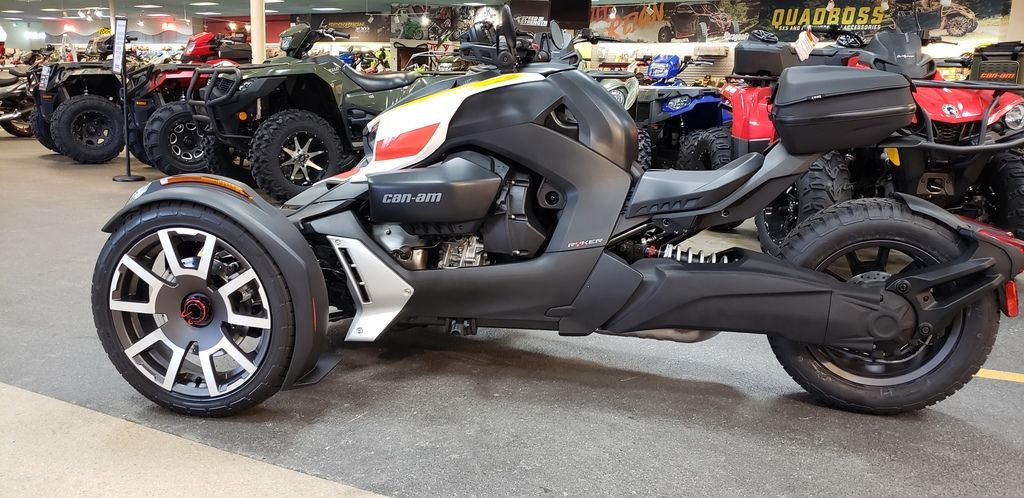 New 2020 Can-Am Ryker Rally Edition 3-Wheel Motorcycle