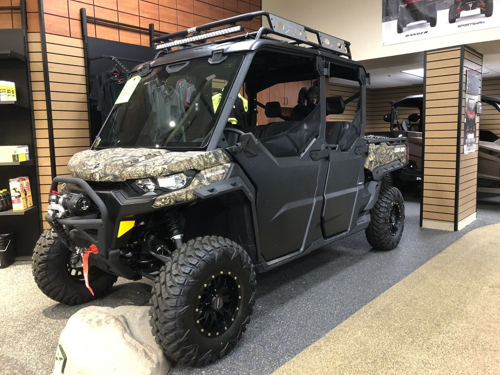 New 2020 Can-Am Defender Max X™ mr HD10 Mossy Oak Break-Up Country Camo Utility