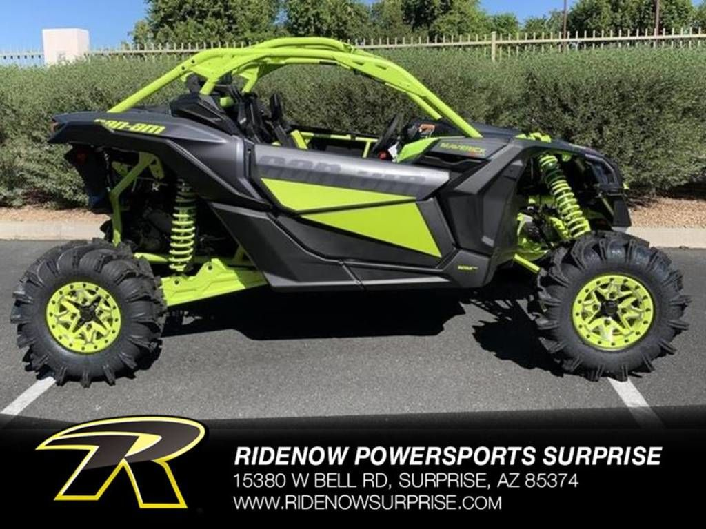 New 2020 Can-Am Maverick™ X3 X™ mr Turbo RR Side by Side