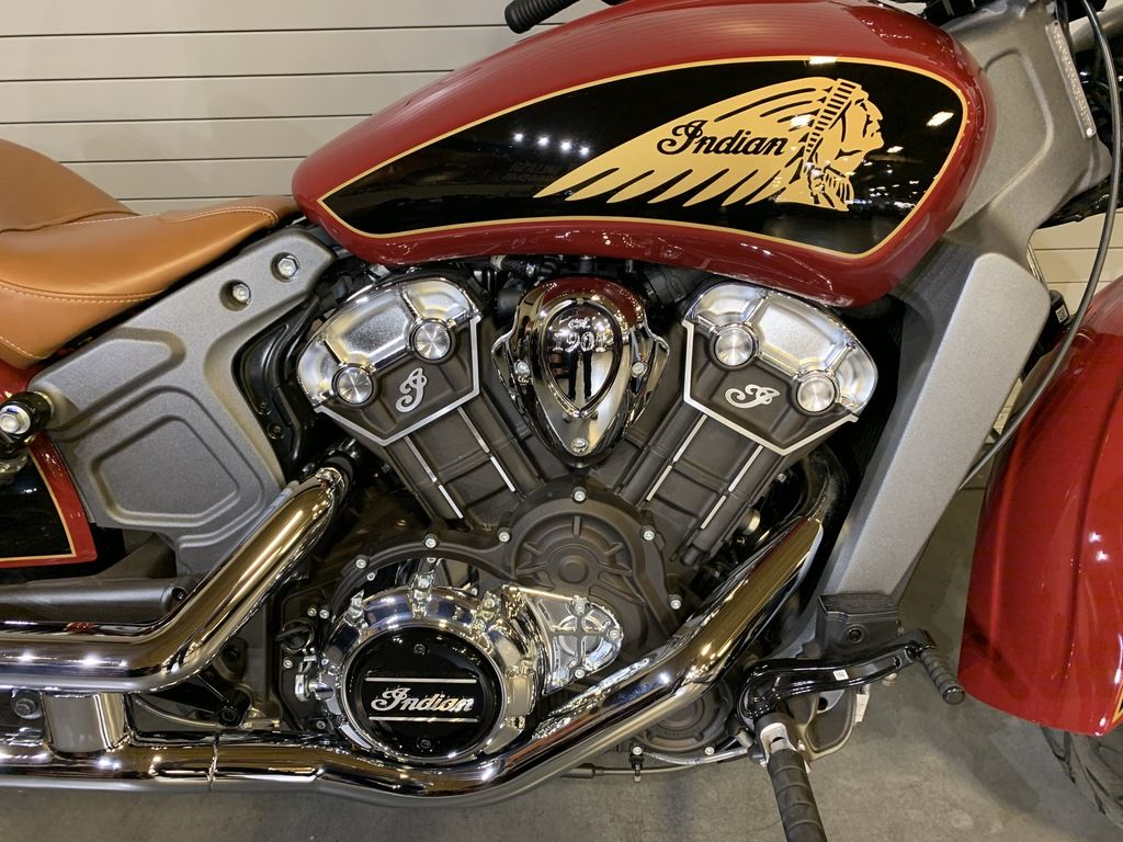 New 2019 Indian Motorcycle Scout® ABS Indian Motorcycle® Red / Thunder Black Cruiser