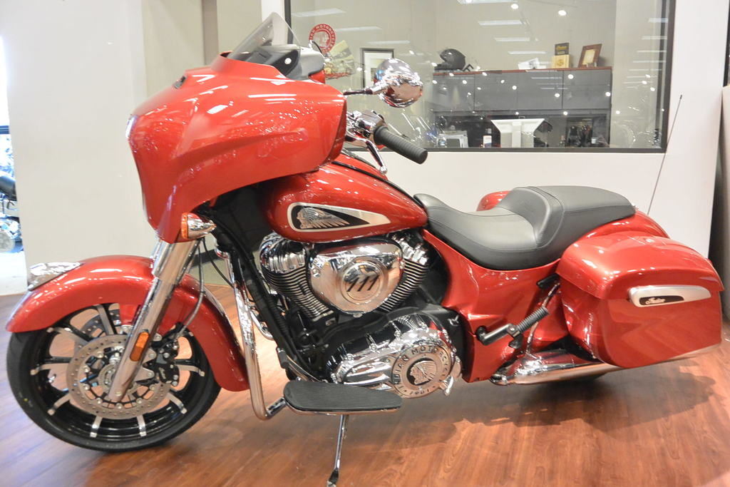 New 2019 Indian Motorcycle Chieftain® Limited Ruby Metallic Cruiser