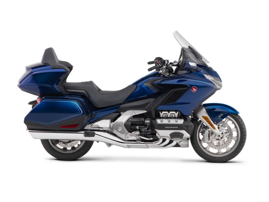New 2018 Honda Gold Wing® Tour Automatic DCT Pearl Hawkseye Blue Touring