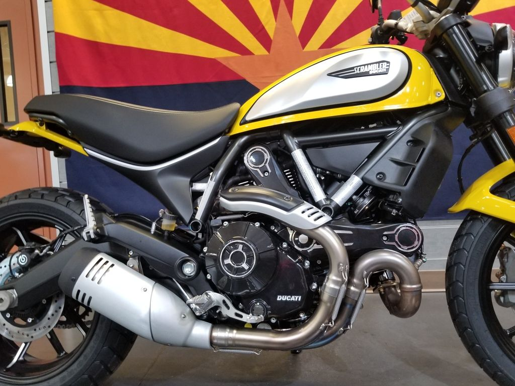 New 2020 Ducati Scrambler 800 Icon Yellow Standard