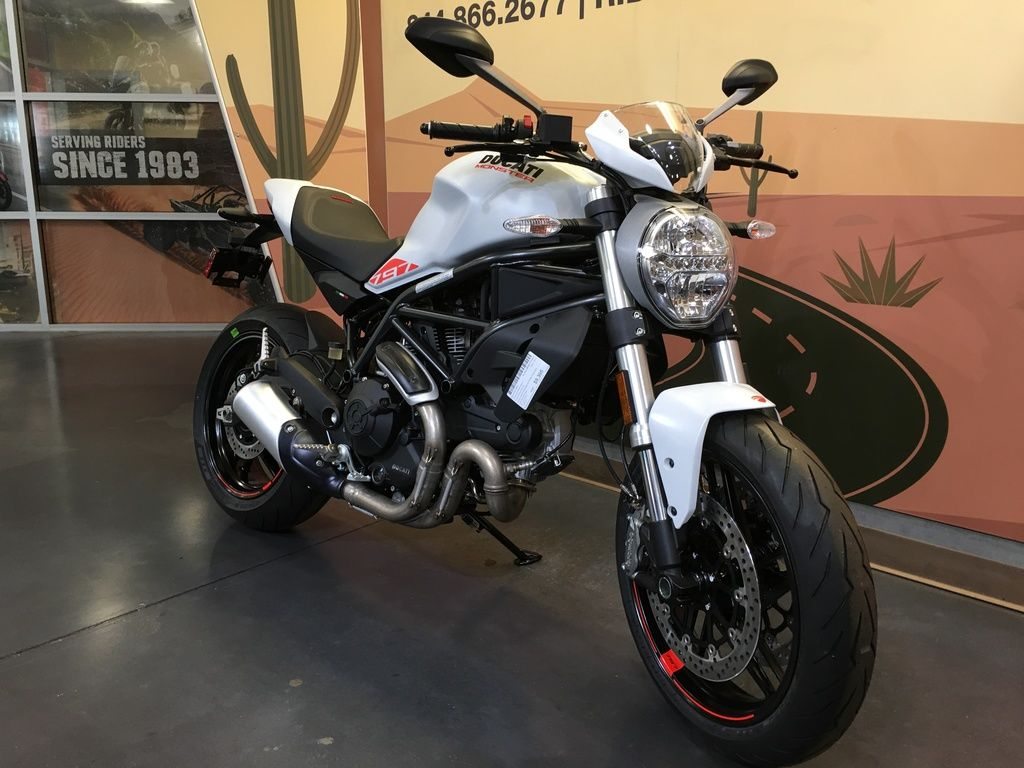 New 2020 Ducati Monster 797+ Star White Silk Sport