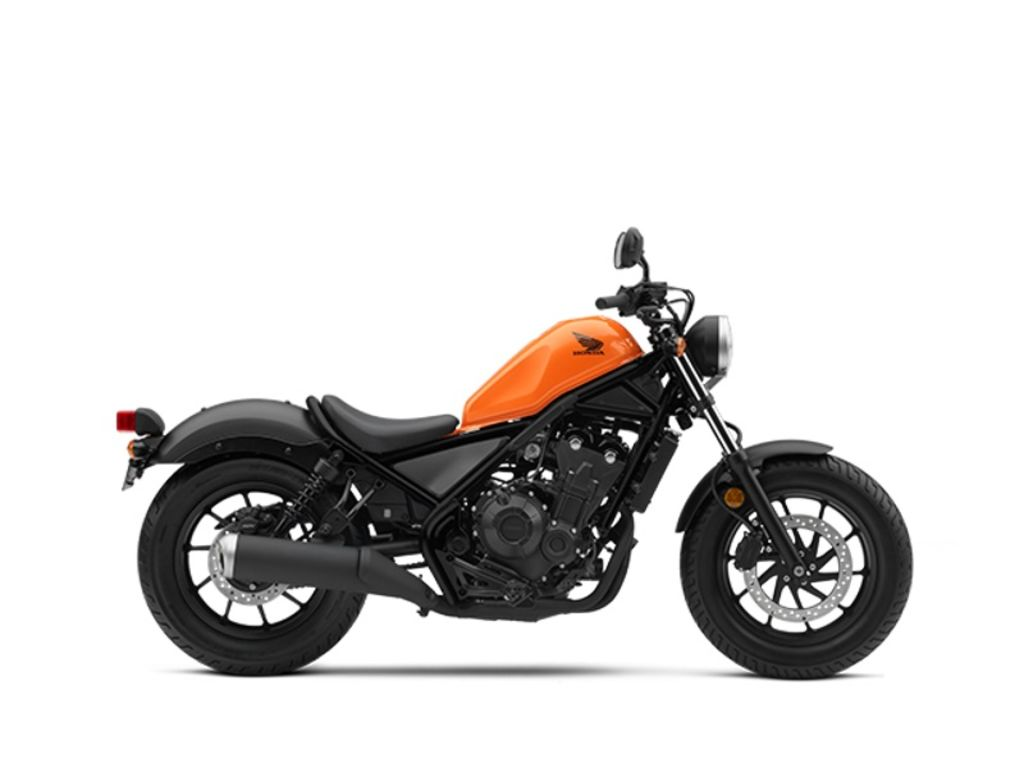 New 2019 Honda Rebel 500 Cruiser