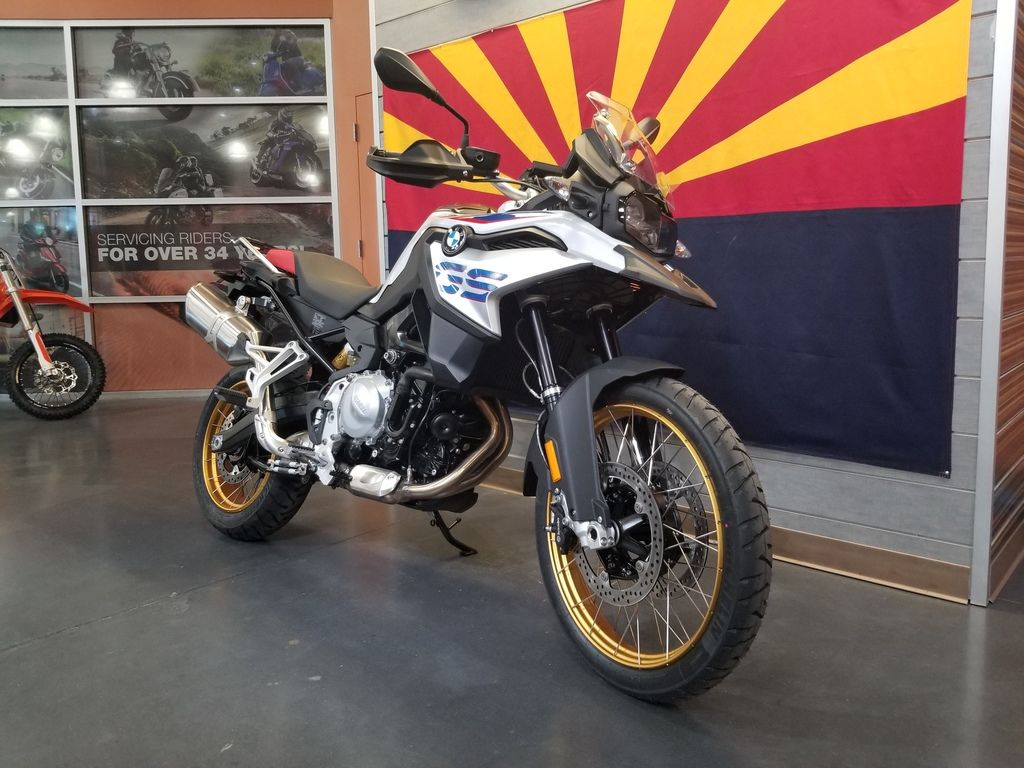 New 2019 BMW F 850 GS Light White Rally Style Premium Adventure