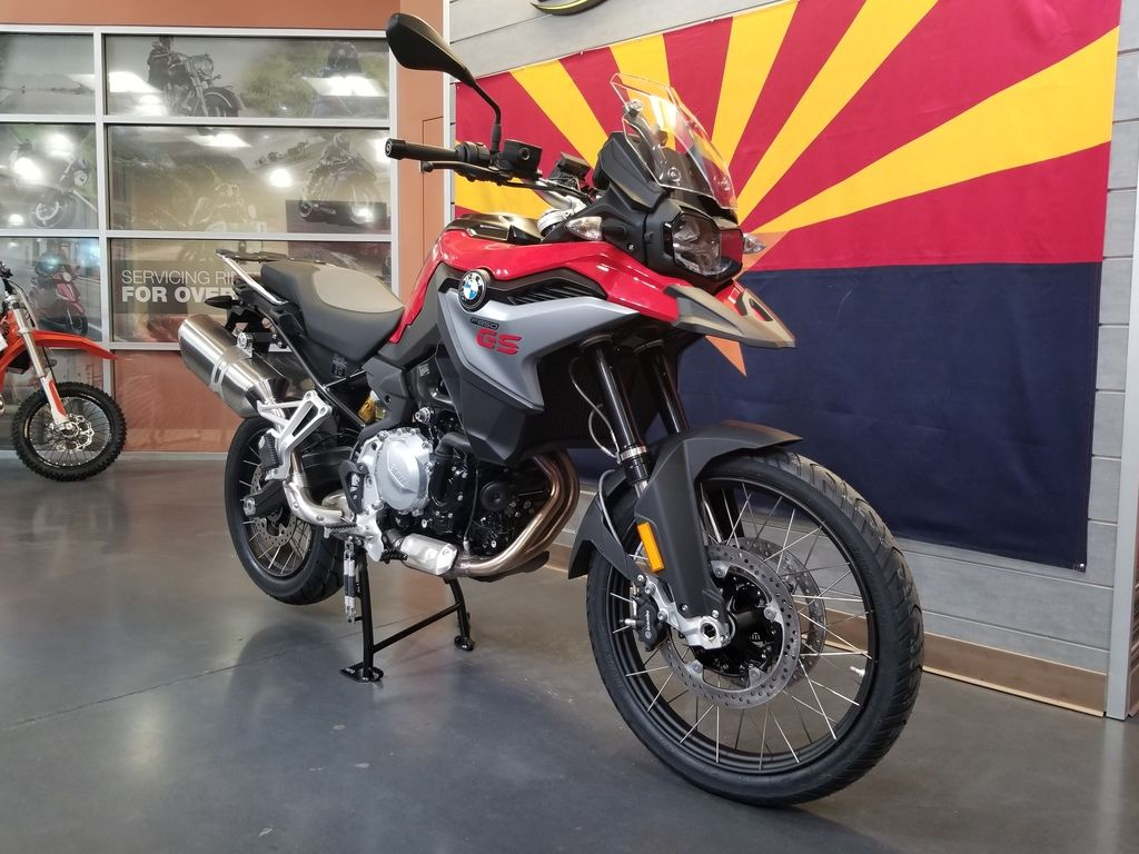 New 2019 BMW F 850 GS Racing Red Premium Adventure