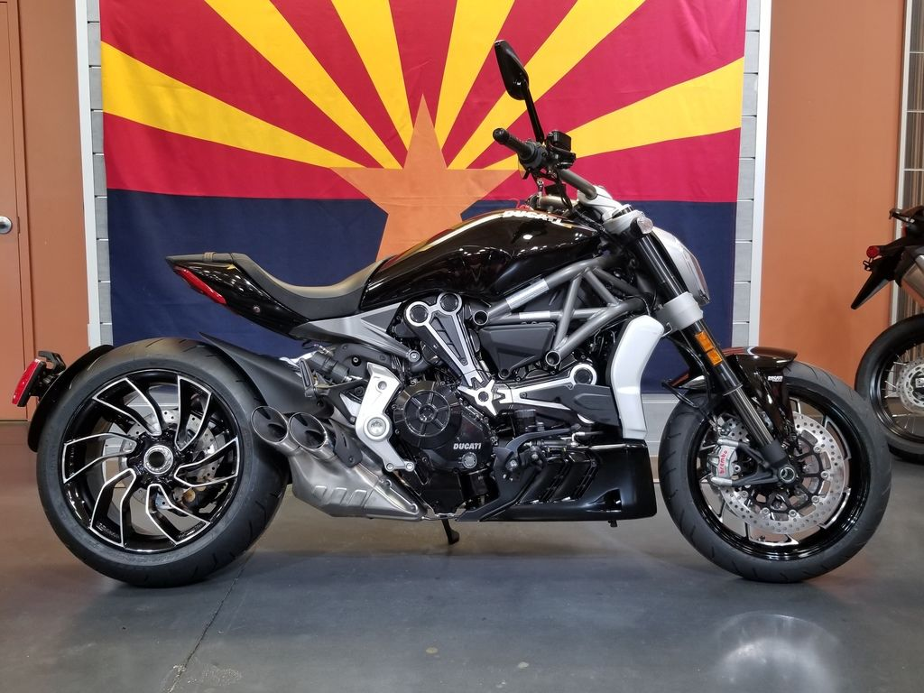 New 2020 Ducati X Diavel Glossy Black w/ Stripe Sport