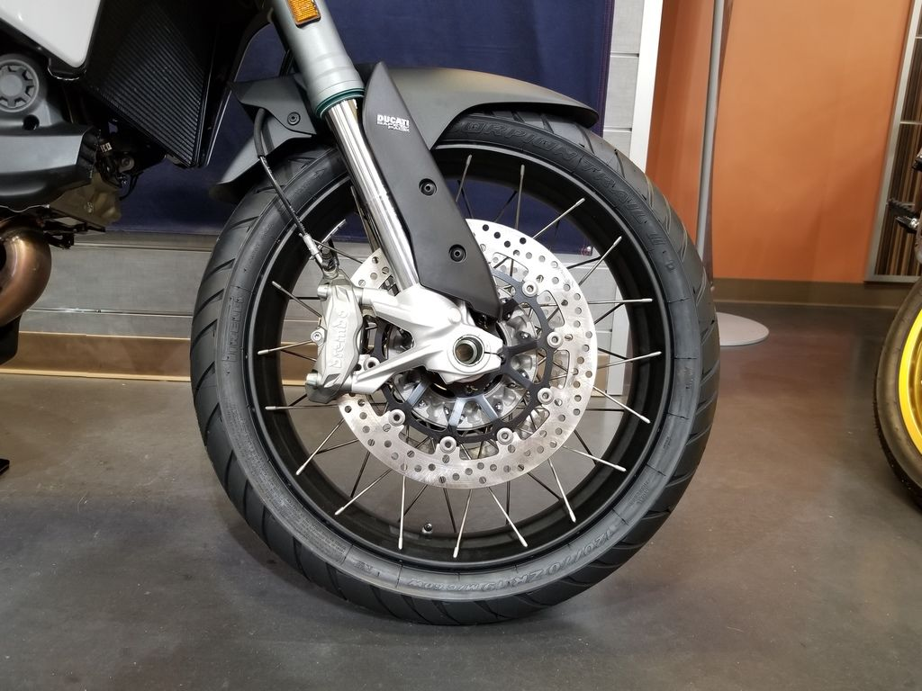 New 2019 Ducati Multistrada 950 S Spoked Wheels Glossy Grey Sport